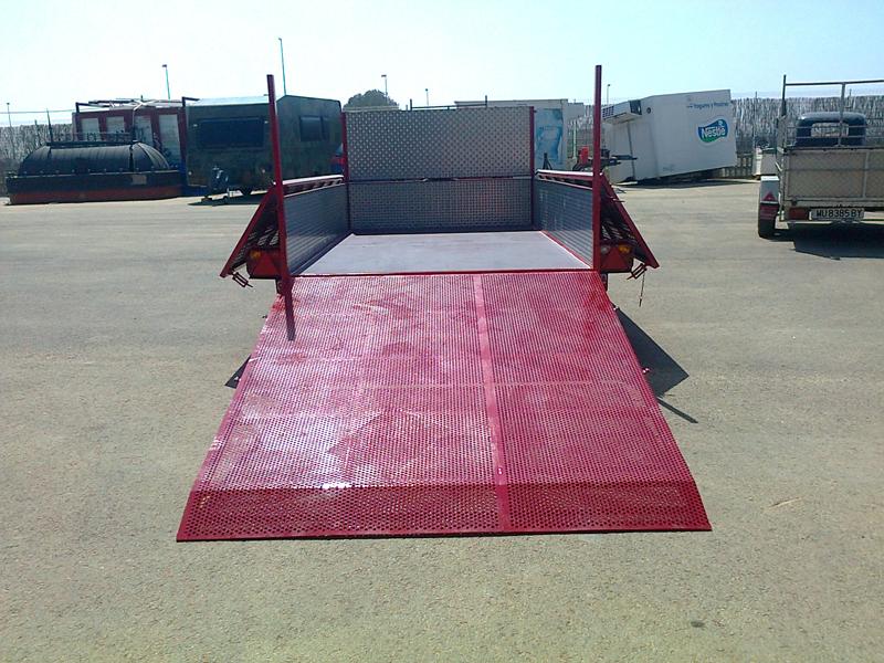 Remolque de transporte de maquinaria (Acciona)