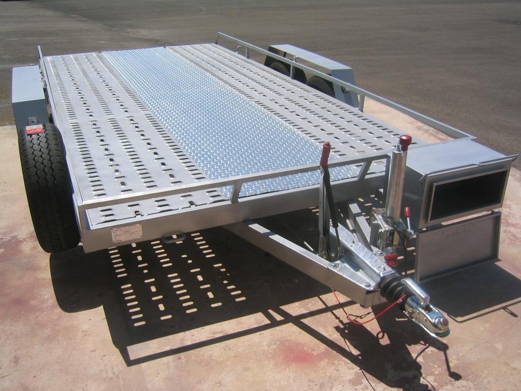 Plataforma porta vehículos hasta 3.500 kilos